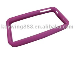 Unisex silicone cell phone case for iPhone 4g