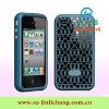 Hybrid silicone case for iphone 4