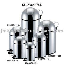 Stainless Steel Pedal Bullet Garbage Bin