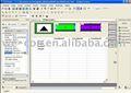 Wecon tela hmi Software Editor - fácil programas de software, Suporte a maioria marca plc