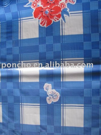 printed colorul plastic films for table cloth
