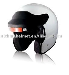 Fiberglass Open Face Snell Scooter Helmet OF-S1