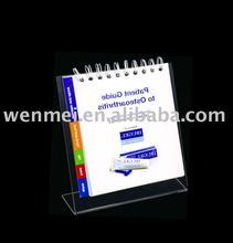 (OH-023) Acrylic Flip Chart / calendar /chart Holder