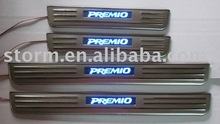 PREMIO Parts Stainless Steel Door Sill Plate With Light