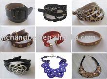 Leather bracelet Fashion craft