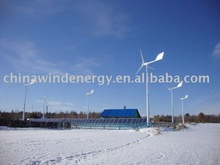 Anhua 6.5kW home wind and solar hybrid power supply system