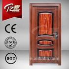 YIJIA heat transfer door Security Steel Doors metal door