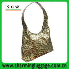 2014 newly design fashion leather womens handbag pu tote bag for laides