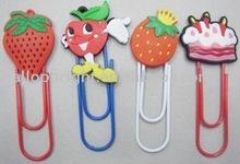 PVC charm clip , pvc bookmarks...
