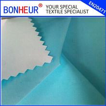 228t dull nylon taslan fabric with white PU coating