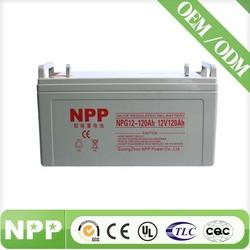 Sealed lead acid battery 12V 120AH