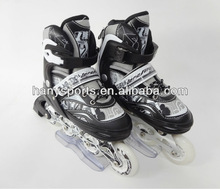 Professinal Adjustable Inline Skates with PVC wheels