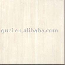 Light gray porcelain floor tile
