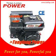 5.5HP 4 stroke single cylinder air cooled 163cc OHV gasoline engine