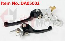 pit bike parts,Dirt bike parts, short-short ASV levers