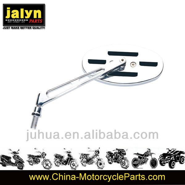 kawasaki/suzuki Customizing Chrome Oval Motorcycle Mirror (Pair)