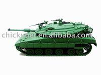 scale Die cast metal miniature tank model
