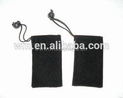 Hot sell velvet drawstring bag for mobile phone packaging