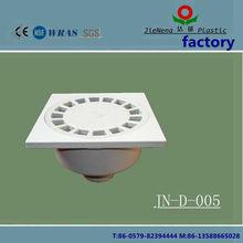 plastic floor drain grate,15*15cm plastic floor drain,hot sale high quality pvc floor drain