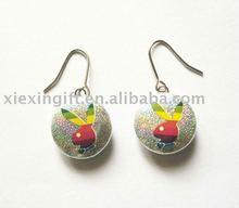 2013 Fashion Tin Rabbit Earring