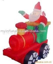 Christmas train inflatable