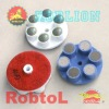 Diamond Grinding and Polishing Pads for Concrete Floor(CORB)-sunny