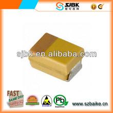TAJR225K016RNJ CAPACITOR TANT 2.2UF 16V 10% SMD av capacitor