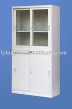 LB-029 Knock down Steel Filing Cabinet/locker /the most popular sliding door steel cabinet/