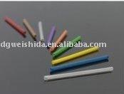 Heat shrinkable fiber optic splice tube