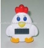 Lovely design cartoon chicken shape Digital kitchen Timer