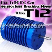 Eoliennes capteur moteur Brushless 12 T pour 1:10 RC de voiture sur la route
