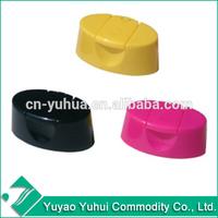 CP2010 Yuyao Yuhui Commodity PP plastic wholesale shampoo bottle 24mm snap on flip top cap