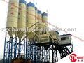 واثب خلط الخرسانة HZS75 نوع (75m3 / ساعة)، مصنع خلط الخرسانة، الخرسانة، محطة خلط الخرسانة الجاهزة