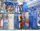 Q3720 single hanger sand blaster/wheel blast cleaning machine
