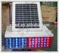 De color rojo, azul bz-ty solar luces de tráfico/explosión- intermitente de alarma de la lámpara