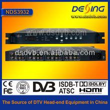 4 channel FTA satellite receiver
