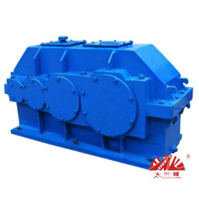 QY Series Parallel Shaft Cylindrical 3 Stage Transmission helical gearbox for crane   Speed Reducer   Gear Box