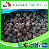 Chinese frozen balckberry A grade 70% balck color , blackberry broken