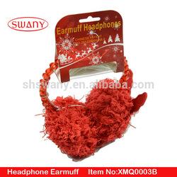 Christmas headphone earmuff whosale