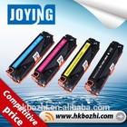 CB540A-543A compatible color toner cartridge for HP Color Laserjet CP1215 toner cartridge CB540A