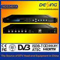 Qpsk modulador MER > 36db DVB-S modulador
