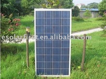high efficiency 110W Poly Solar Panel with CE, TUV, IEC, RoHS and UL Certification, Suitable for Power Stations