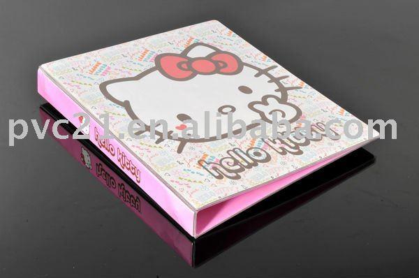 Hello Kitty Folders Hello Kitty Cartoon a4 Size