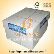 100% White Wood Pulp 8.5 X 11 Letter Size Copy Paper 75gsm