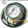 50mm bourdon tube CNG manometer