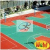 OUTDOOR PURE COLOR RUBBER FLOORING