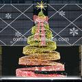 Cortinas 6m& bola decorado grande para el árbol de navidad