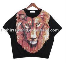 2012 Fashion Animal Printing Lady T shirt