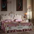 Antiguos tallados a mano - cama clásico juego de dormitorio