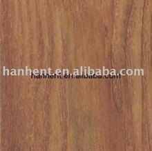 Mahogany Finish Waterproof Wood Vinyl Plank Floor